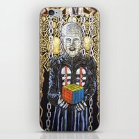 Rubik raises Hell (revenge) iPhone & iPod Skin