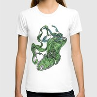 Death Of A Siren Womens Fitted Tee White SMALL