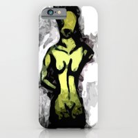 Naked Black And White iPhone 6 Slim Case