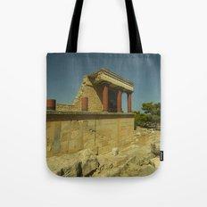 Knossos Palace Tote Bag