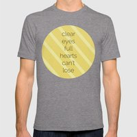 Clear Eyes, Full Hearts, Can't Lose-Friday Night Lights  v2.0 Mens Fitted Tee Tri-Grey SMALL