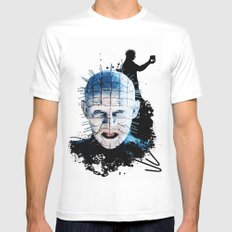 Pinhead: Monster Madness Series  Mens Fitted Tee SMALL White