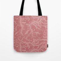 Ferning - Dusty Rose Tote Bag