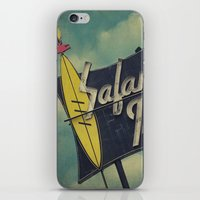 Safari Inn, Burbank, CA.… iPhone & iPod Skin