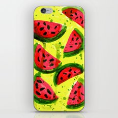 Watermelon Meltdown iPhone & iPod Skin