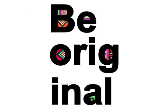 Be Original Art Print