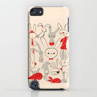 iPod Touch Cases featuring Bunnies by Jay Fleck