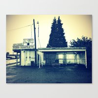 Canvas Print featuring South Tacoma Chiropractic by Vorona Photography