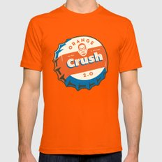 Denver's Orange Crush Defense TWO POINT OH! Mens Fitted Tee Orange SMALL