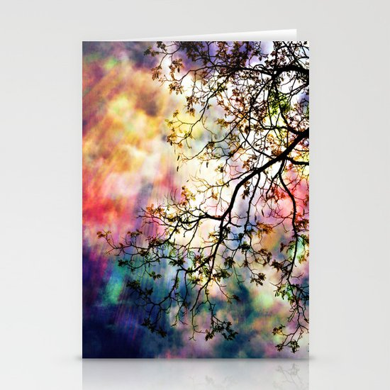 the Tree of Many Colors Stationery Card