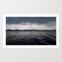 'Lake Ominous' Art Print