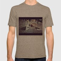Puddle Mens Fitted Tee Tri-Coffee SMALL