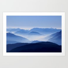 Range Art Print