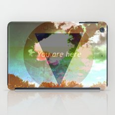 You Are Here iPad Case