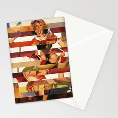Glitch Pin-Up Redux: Kimberly Stationery Cards