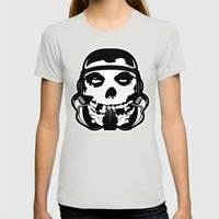 MisFit Trooper Womens Fitted Tee Silver SMALL