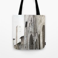 What These Walls Have Seen - Tuscany Tote Bag