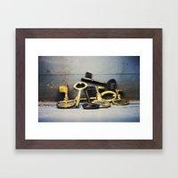 Master Set Framed Art Print