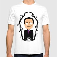 Dalí Mens Fitted Tee White SMALL