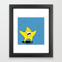 Starscream (Full Color) Framed Art Print