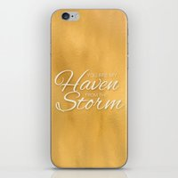 Haven from the Storm iPhone & iPod Skin