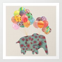 balloon Art Print