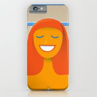 Carpet swimmer iPhone 6 Slim Case