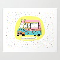 The Best Car In The Worl… Art Print