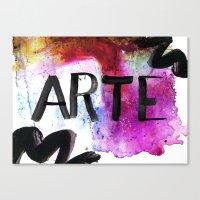 ARTE Canvas Print