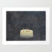 Unbirthday Art Print