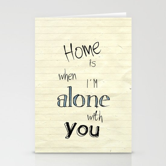 Home Stationery Card