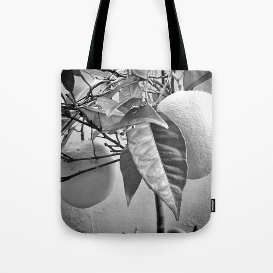 Oranges in my garden Tote Bag