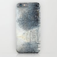 iPhone Cases featuring Capitol Christmas by Ann Marie Coolick