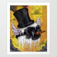 Frosty's Lament Print~! Art Print