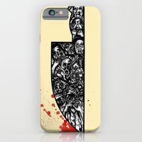 iPhone & iPod Case featuring foul deeds by Chris Brake