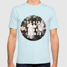 Lilies Don't Stand A Chance Mens Fitted Tee Light Blue SMALL
