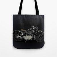 1937 Black Tote Bag