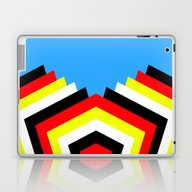 Laptop & iPad Skin featuring Flies by Silvio Ledbetter