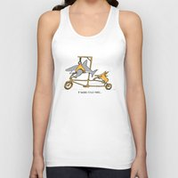 If Sharks Could Smile Unisex Tank Top
