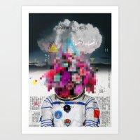 Censored Serenity Art Print