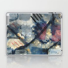 Battle of the squares Laptop & iPad Skin