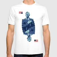 Underwood Mens Fitted Tee White SMALL
