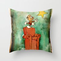 The Natural Philosopher  Throw Pillow