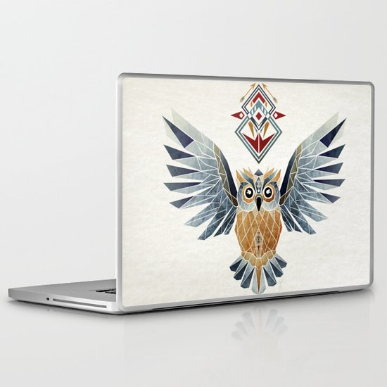 owl winter Laptop & iPad Skin