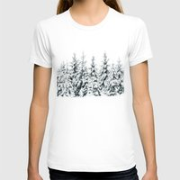 snow T-shirts featuring Snow Porn by Tordis Kayma