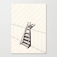 There's No Way Out Of He… Canvas Print