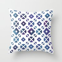 Broken Geometry 3 Throw Pillow