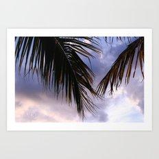 tropical.  Art Print