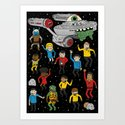 Star Trek The Reanimated Series Art Print