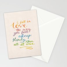 All At Once Stationery Cards